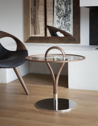 Tonon Up Lounge-chair und Beistelltsich