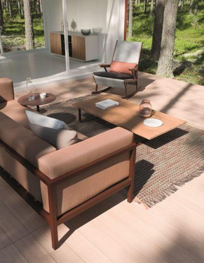 Kettal Landscape Lounge + Liegestuhl
