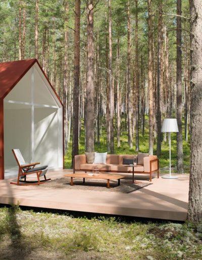 Kettal Landscape Lounge + Schaukelstuhl
