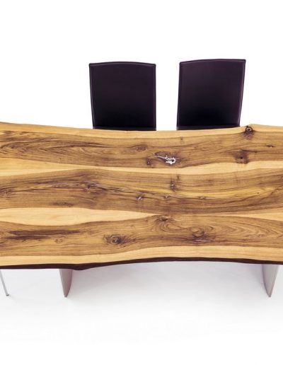 Scholtissek Zett Tisch, Kosmos Sessel/Stuhl