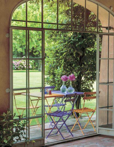 ARC EN CIEL, klassische Klappmöbel für den Garten, emu Italien