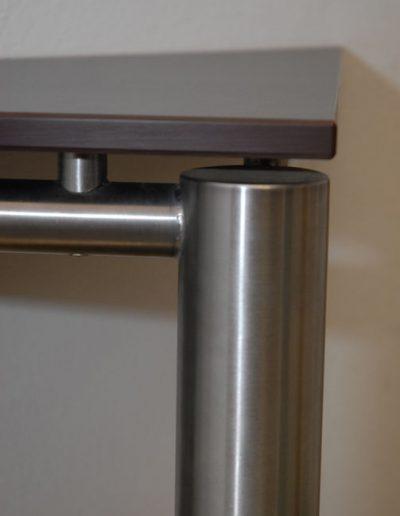 eko individuell Tischgestell rund Detail