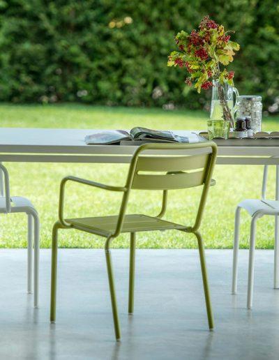 STAR, hochwertige Metallmöbel für den Garten, emu Italien